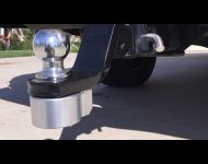 Silver lock - black ball mount - NO trailer